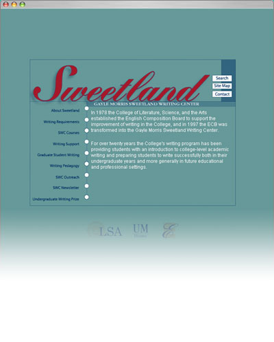 U-M Sweetland Writing Program, Home